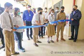 Gobierno inaugura nueva escuela para Bocas del Toro - En Segundos