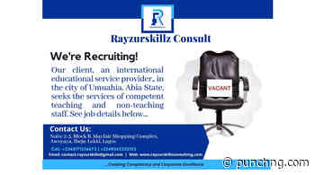 Career Opportunities in a Canadian-Nigerian International School in Umuahia - Punch Newspapers