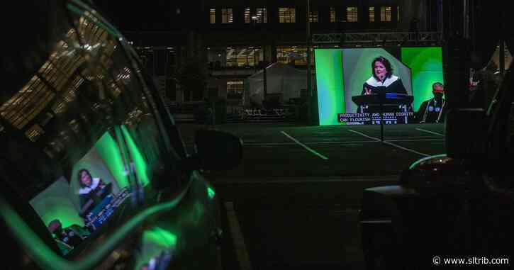 After tension over her speaking, here's what the wife of the LDS president told graduates at Utah Valley University