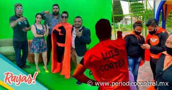 Candidato de MC a alcaldía de Acajete hace campaña vestido de súper héroe - Periodico Central