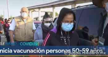 Vacunación contra Covid19 en CESSA Tlaxcalancingo - Telediario Puebla