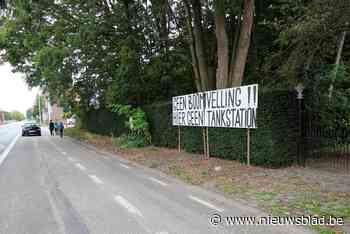 """Vergunning Boechouts tankstation geschorst: """"Bomen moeten bl... (Boechout) - Het Nieuwsblad"""