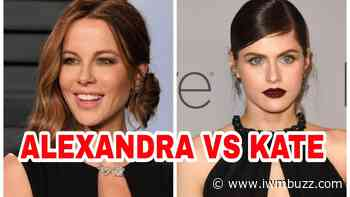 Alexandra Daddario Vs Kate Beckinsale: Who Looks Hot In The Black Deep-Neck Outfit? - IWMBuzz