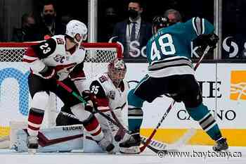 Kessel, Soderstrom lead Coyotes past Sharks 5-2