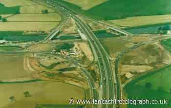 M6 scheme added three bridges over the Ribble at Samlesbury