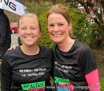 Running friends complete 48 miles challenge for children's mental health charity