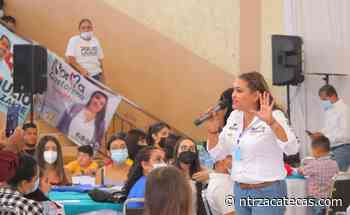 Visita Norma Castorena Jimenez del Teúl, Chalchihuites y Sombrerete - NTR Zacatecas .com