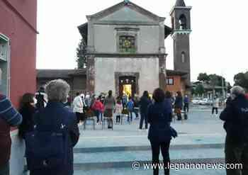 """La piazzetta della Ponzella a Legnano """"inaugurata"""" con la recita del rosario - LegnanoNews"""