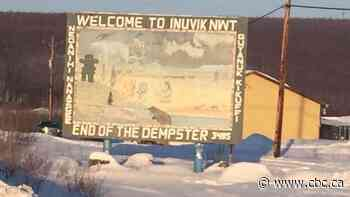 Inuvik's first ever welcome sign will come down, but it's not goodbye forever - CBC.ca
