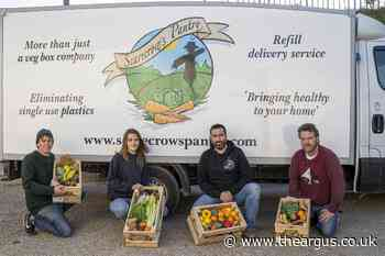Sussex food delivery service Scarecrow's Pantry on mission to help shoppers go plastic-free