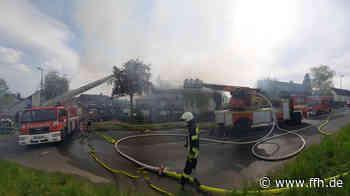 Hoher Schaden bei Wohnhausbrand in Oestrich-Winkel - HIT RADIO FFH