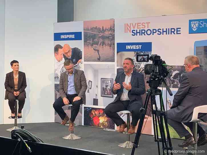 Business Leaders Breakfast reveals bright future for the Shropshire economy