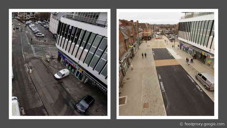 Work to transform Shrewsbury town centre nears completion