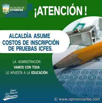 Alcaldía de Sitionuevo asumirá costo de inscripción de pruebas saber 11 a Jóvenes del municipio - Opinion Caribe