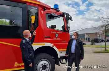 FW Xanten: Abbiegeassistenten für die Einsatzfahrzeuge der Freiwilligen Feuerwehr Xanten - Presseportal.de