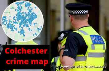 Mapped: Every crime reported in Colchester in March 2021