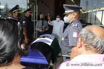 Dan último adiós a Sergio Silva, policía asesinado en León - Milenio