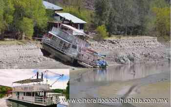 Dejó de navegar el barco 'Colibrí' en Saucillo - El Heraldo de Chihuahua