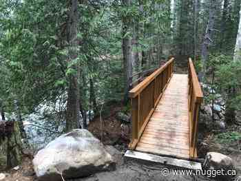 New bridge installed at Eau Claire Gorge - The North Bay Nugget