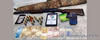 Polícia Militar prende em Ipira, suspeito por tráfico de drogas e homicídio - Rádio Aliança 750khz