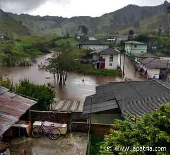 Desbordamiento de quebrada en San Félix (Salamina) afectó cuatro viviendas - La Patria.com