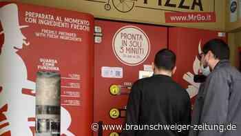 Ernährung: Pizza-Automat spaltet kulinarische Meinung in Rom