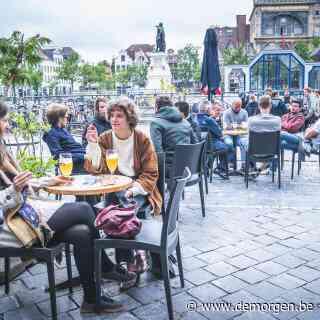 Live - Terrassen zijn weer open: 'Als alles goed gaat, kan horeca in juni ook binnen open'