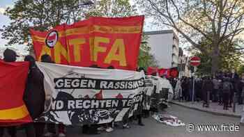 100 Jahre Antifa – Demo im Frankfurter Gallus bleibt friedlich, Kritik an Polizei und Minister Beuth - fr.de