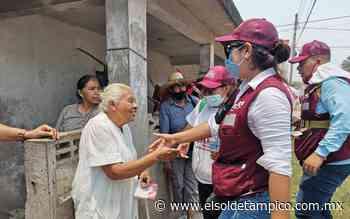 Valeria Nieto sigue ganando simpatía de la gente en Pueblo Viejo - El Sol de Tampico