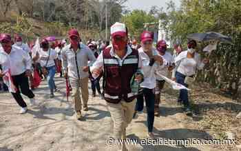 Candidatos de Morena arrancan campaña en Pueblo Viejo - El Sol de Tampico