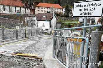 Triberg: Triberger Straße wird durch Bauarbeiten jetzt noch enger - SÜDKURIER Online