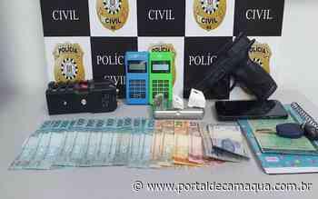 Homem é preso por tráfico de drogas no Bairro Barrinha, em São Lourenço do Sul - Portal de Camaquã