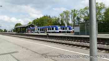 Bauarbeiten: Züge in Bobingen und Schwabmünchen fallen aus - Augsburger Allgemeine