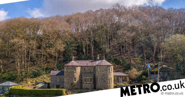 Fairy-tale castle in its own enchanted forest is up for sale for the first time in 100 years