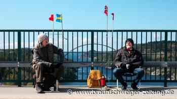 Wegen Corona: Zwillingsbrüder müssen sich auf Grenzbrücke treffen