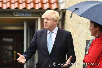 Boris Johnson dismisses 'irresponsible' Scotland referendum as SNP majority on knife-edge