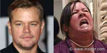 Matt Damon almost had a cameo chopping wood in 'Bridesmaids' - Insider
