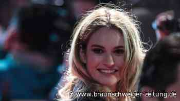 Neues aus Hollywood: Lily James als Pamela Anderson in Sexvideo-Story