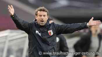 Bundesliga-Freitagsspiel: Weinzierl-Debüt missglückt - Dennoch Lob für neuen FCA-Coach
