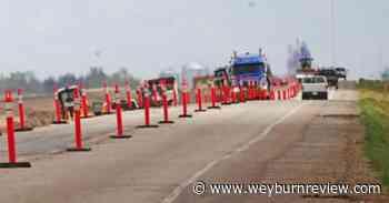 Motorists advised of work underway on Highway 39 - Weyburn Review