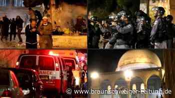 Viele Verletzte bei schweren Zusammenstößen in Ost-Jerusalem