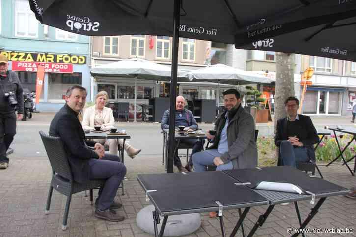 Extra plaats voor terrassen op Grote Markt en Groenplein
