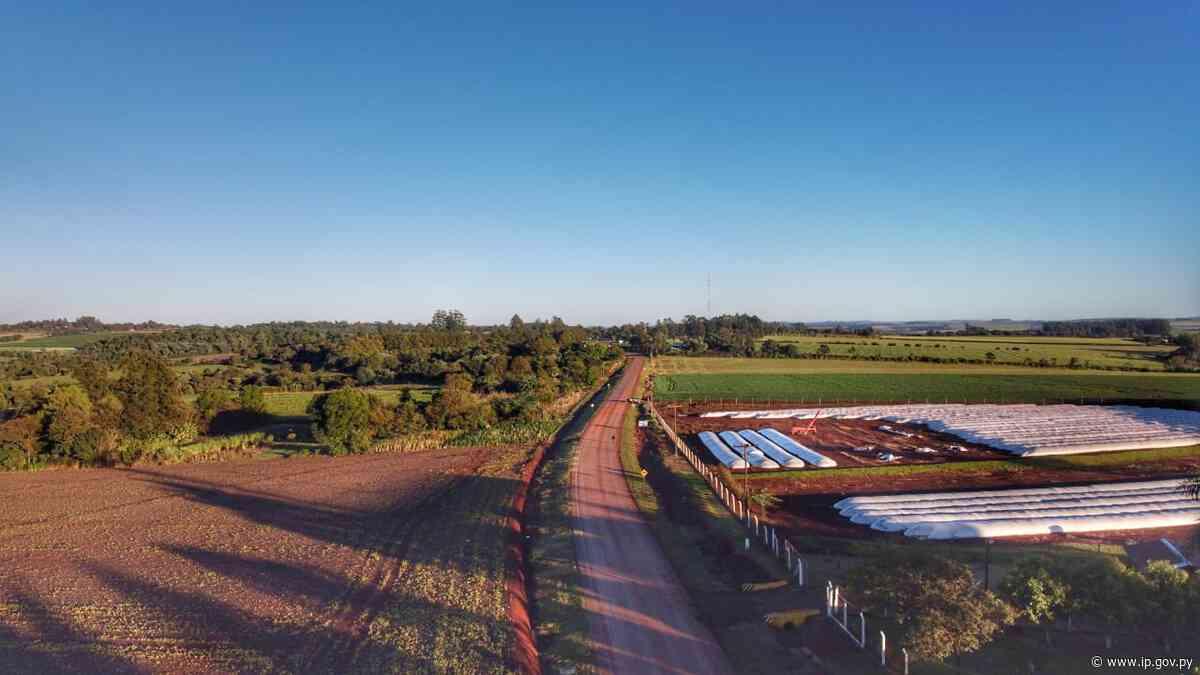 Gobierno habilita ruta que contribuirá al desarrollo de Edelira y alcanza 2.117 km pavimentados   - ip.gov.py