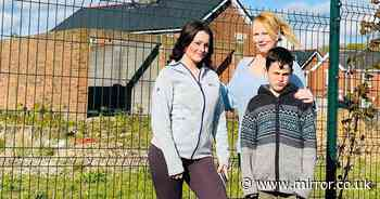 Mum-of-five finally gets neighbours after 10 years of living on housing estate