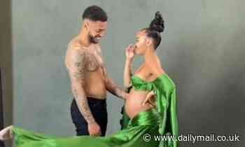 Leigh-Anne Pinnock shares behind-the-scenes video from pregnancy announcement photoshoot