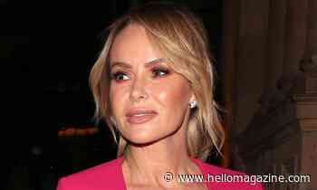 Amanda Holden wows in bold orange swimsuit as she reveals exciting news