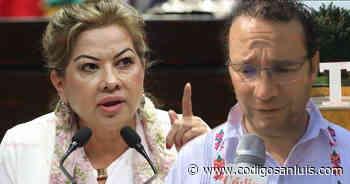 Guadalupe Almaguer acusa; Nava mentiroso y corrupto - Código San Luis