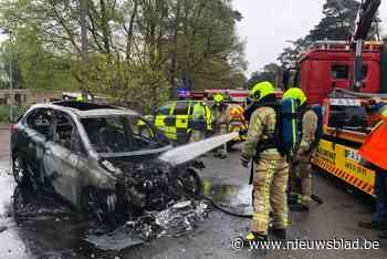 BMW brandt volledig uit na technisch defect