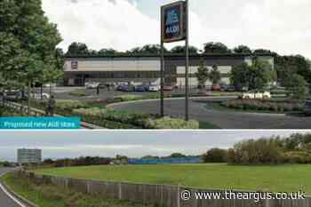Aldi is planning a huge new store in Hove