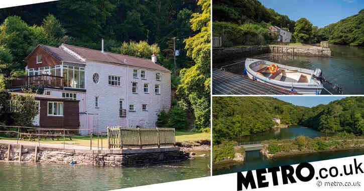 Cornish waterside house with recording studio used by Oasis on sale for £2.25million